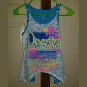 "Justice Girls Tank ""Dream"""